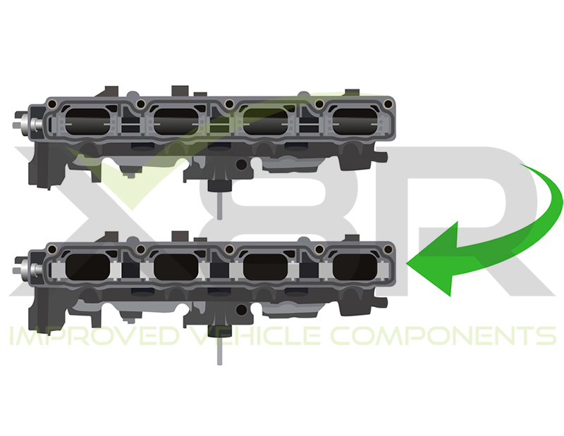 2.0 tfsi Audi VW Intake Manifold Runner Delete