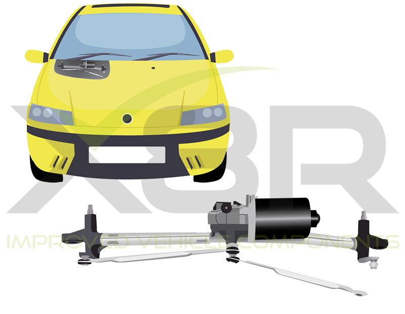 image for linkage with fiat bracket wiper s punto itm windshield is windscreen loading motor clip