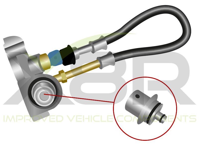 Faulty TD5 fuel pressue regulator leaking cause