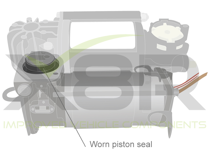 AUDI A8, D3, 4E WABCO AIR SUSPENSION COMPRESSOR PISTON RING REPAIR