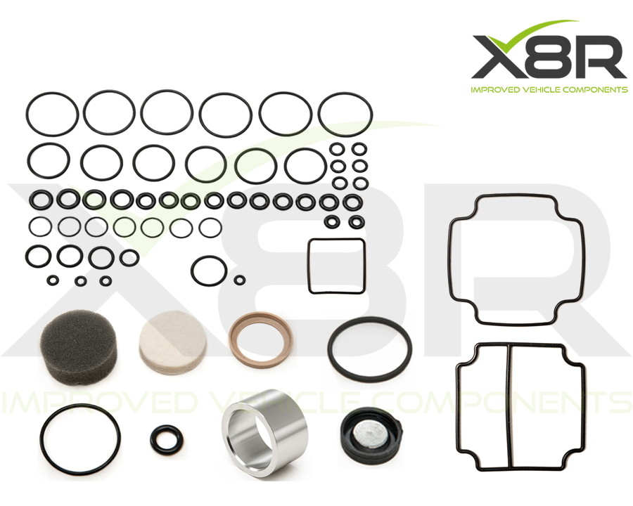 range rover p38 complete EAS overhaul kit seal liner valveblock and diaphragm kit