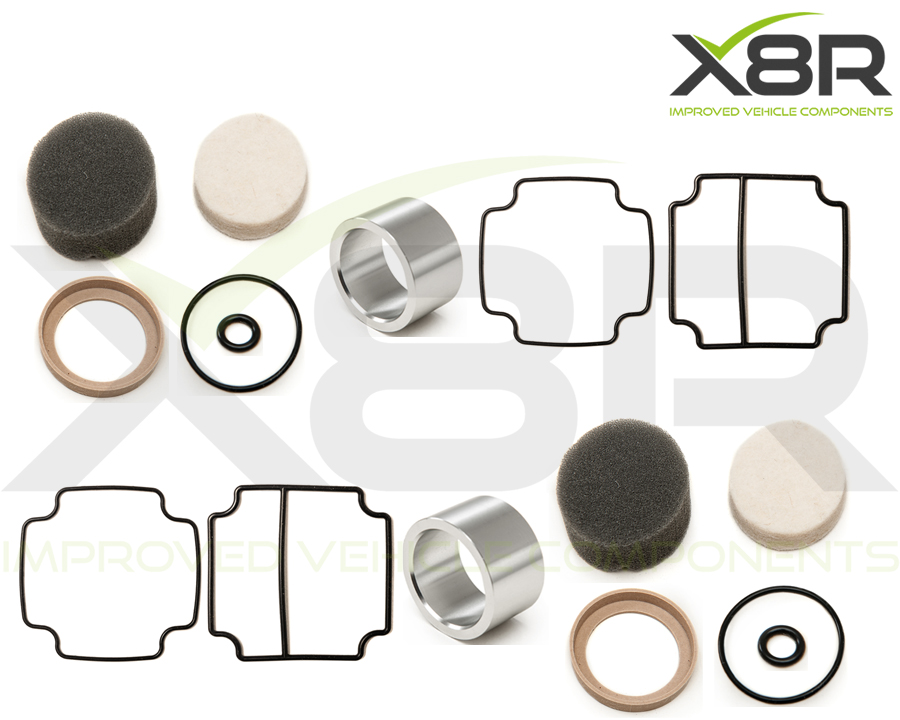 overhaul kit for dunlop compressor piston seal liner drier unit