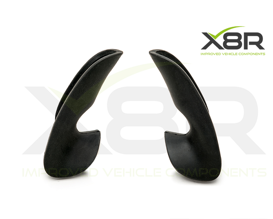replacement improved rubber thumb grips for renault clio sport steering wheels