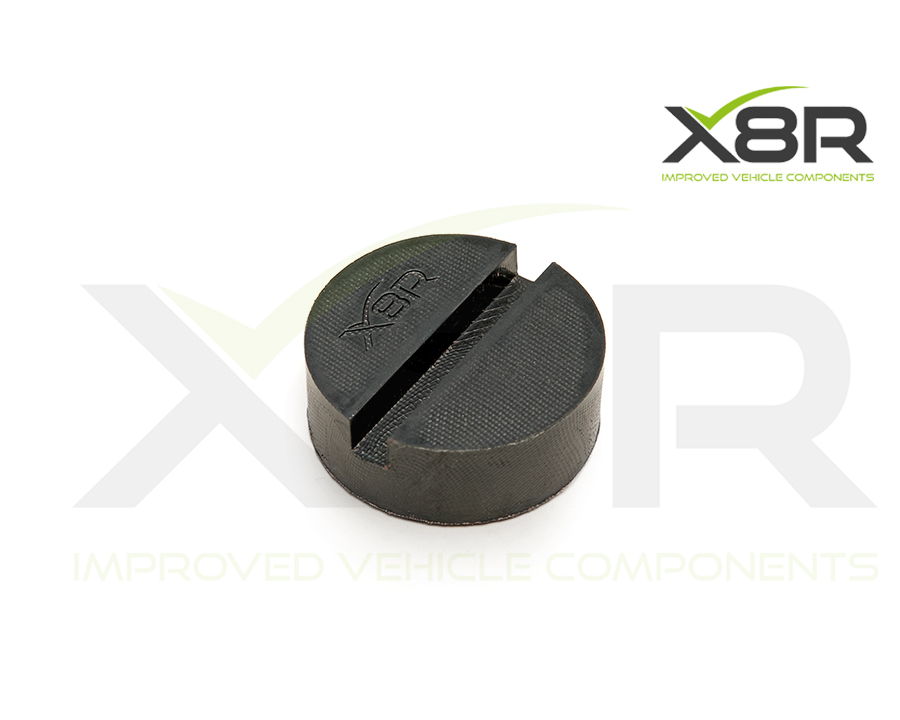 new jacking pad made of reinforced rubber for extra strength