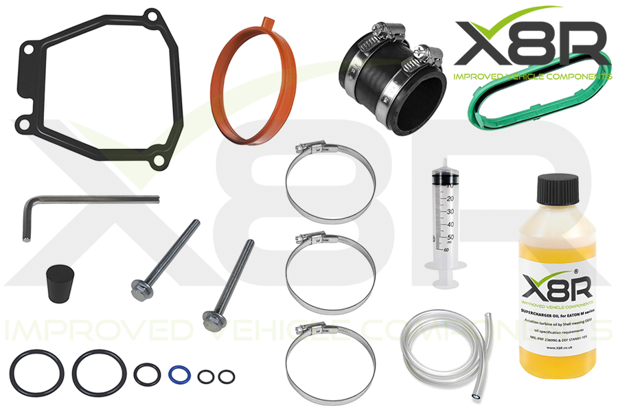 mini cooper s r53 r52 supercharger service oil overhaul kit