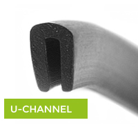 u channel rubber trim