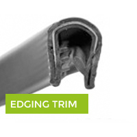 edging rubber trim